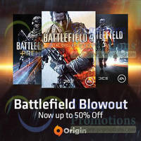 Read more about Battlefield PC Games SALE @ Origin 21 Feb - 1 Mar 2014