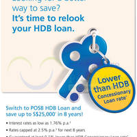 Read more about POSB HDB Loans $1800 Gift For Refinancing 17 Feb 2014