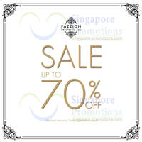 Read more about Pazzion Up To 70% OFF SALE @ All Outlets 5 Feb - 2 Mar 2014