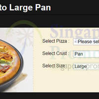 Read more about Pizza Hut Delivery FREE Uptrade To Large Pizza Coupon Code 5 Feb 2014