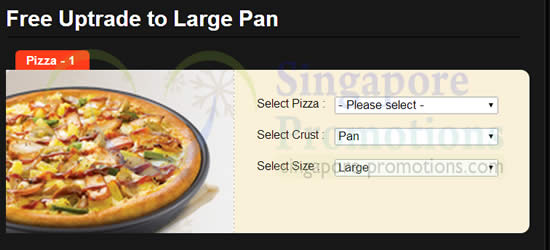 Pizza and curry coupons