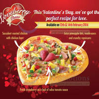 Read more about Pizza Hut Valentine's Day Loveberry Special Pizza 13 - 14 Feb 2014