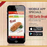 Read more about Pizza Hut Delivery FREE Garlic Bread Promo 19 Feb 2014