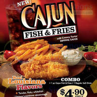 Read more about Popeyes NEW Cajun Fish & Fries 13 Feb - 9 Mar 2014