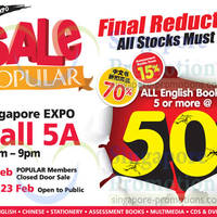 Read more about Popular Ultimate Expo Sale @ Singapore Expo 21 - 23 Feb 2014