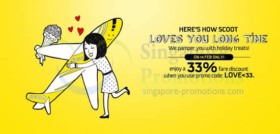 Scoot Valentines Day Promo 14 Feb 2014