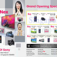 Read more about Sony Grand Opening Special Offers @ NEX 7 Feb 2014
