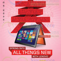 Read more about Lenovo Notebooks & AIO Desktop PC Offers 1 - 26 Feb 2014
