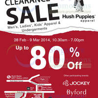 Read more about Hush Puppies Up To 80% OFF Stock Clearance SALE 28 Feb - 9 Mar 2014