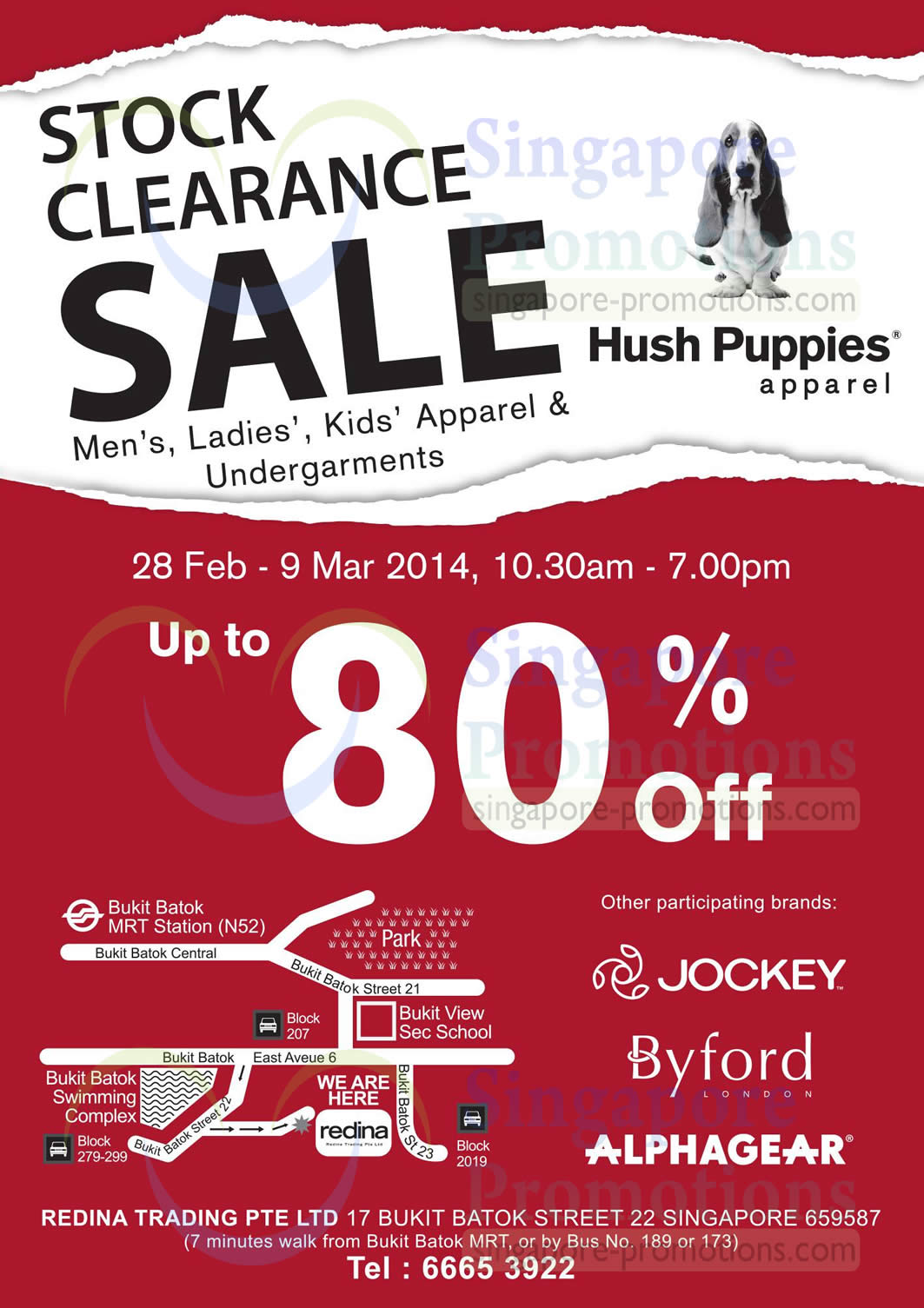 Stock Clearance Sale Details