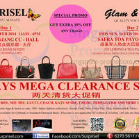 Read more about Surprisel Branded Handbags Sale Up To 75% Off @ Two Locations 15 - 16 Feb 2014