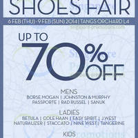 Read more about Tangs Up To 70% OFF Shoes Fair @ Orchard 6 - 9 Feb 2014