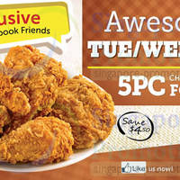 Read more about Texas Chicken $9 5pc Chicken (Tues - Thurs) Promo 18 Feb - 20 Mar 2014