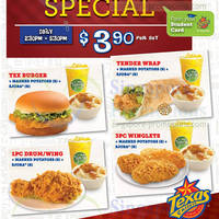 Read more about Texas Chicken $3.90 Afternoon Student Specials 5 Feb 2014