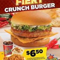 Read more about Texas Chicken NEW Fiery Crunch Burger 18 Feb 2014