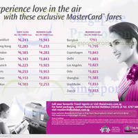 Read more about Thai Airways MasterCard Special Promo Air Fares Offers 12 Feb - 31 Mar 2014