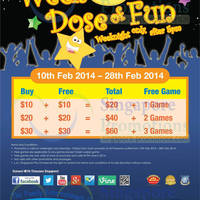 Read more about Timezone 100% Extra Double Dollar & FREE Games Promo 10 - 28 Feb 2014