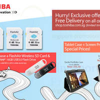 Read more about Toshiba FlashAir Wireless SD Cards Promo Offers 18 Feb - 2 Mar 2014
