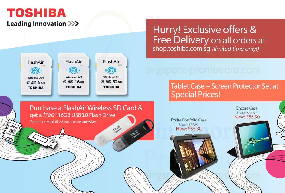 Toshiba FlashAir Wireless SD Card