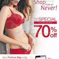 Read more about Triumph Up To 70% OFF Post CNY Promo 2 - 16 Feb 2014