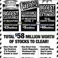 Read more about Courts Biggest Clearance Offers @ All Outlets 15 - 16 Feb 2014