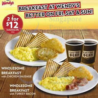 Read more about Wendy's $12 Two Breakfast Fridays To Sundays Promo 7 Feb 2014