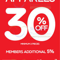 Read more about World of Sports 30% OFF 2 Apparel Pieces Promo 14 Feb 2014