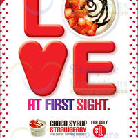 Read more about Yami Yogurt $1 Chocolate Syrup & Strawberry Topping Promo 14 - 28 Feb 2014