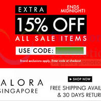 Read more about Zalora 15% OFF ALL Sale Items Coupon Code (NO Min Spend) 11 Feb 2014