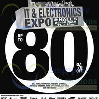 Read more about IT & Electronics Expo @ Singapore Expo 28 - 30 Mar 2014
