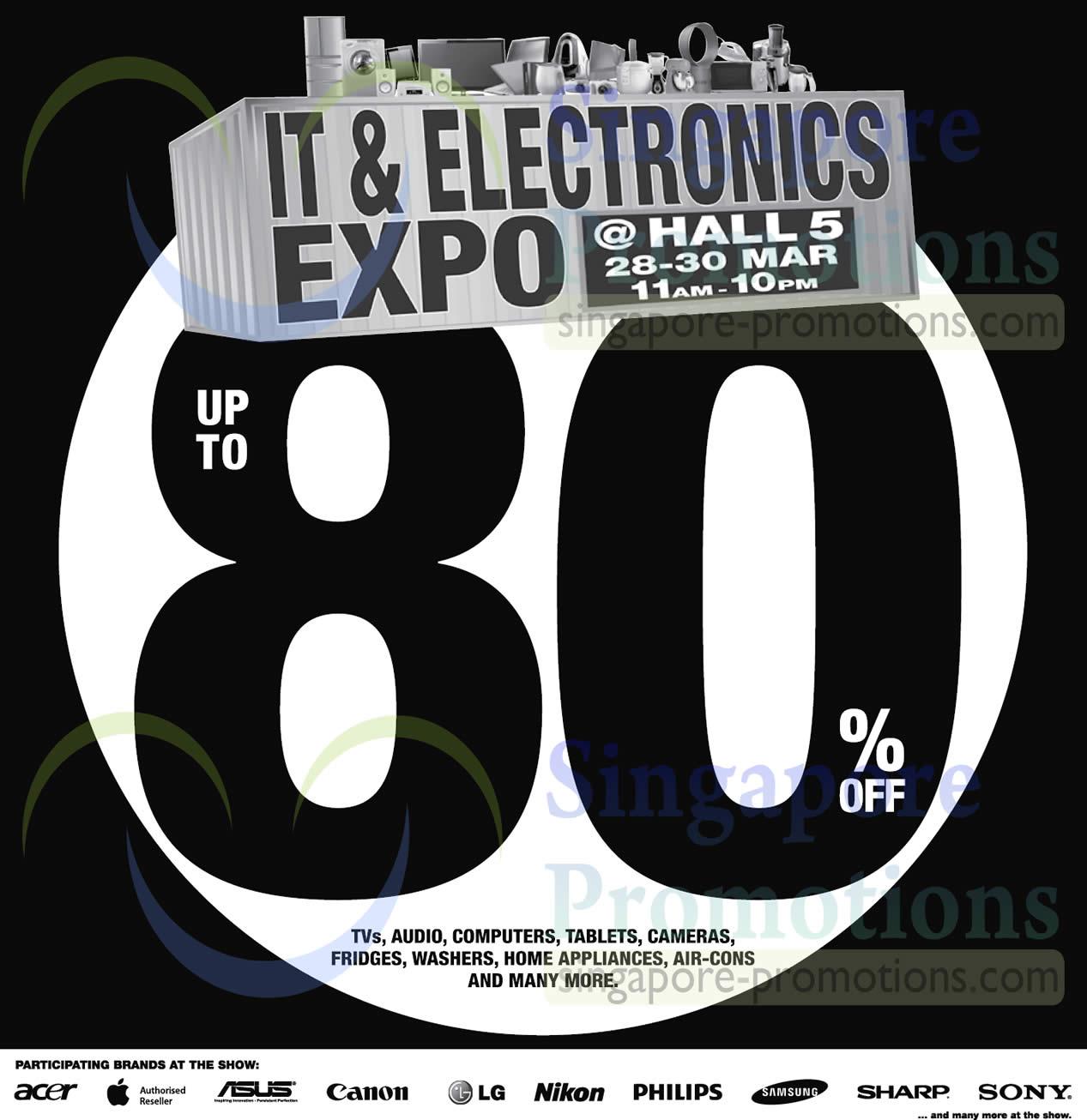 28 Mar Participating Brands, Event Info