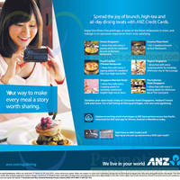 Read more about ANZ One Dines Free Dining Offers 21 Mar - 30 Jun 2014