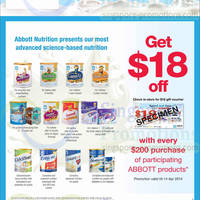 Read more about Abbott FREE $18 Voucher @ FairPrice 20 Mar - 14 Apr 2014