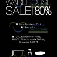 Read more about Air Furniture Warehouse SALE @ Pines Industrial Building 8 - 9 Mar 2014