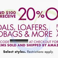Read more about Amazon.com 20% OFF Footwear, Handbags & More Coupon Code 28 Mar - 14 Apr 2014