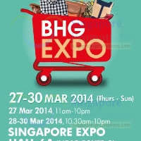Read more about BHG Expo SALE @ Singapore Expo 27 - 30 Mar 2014