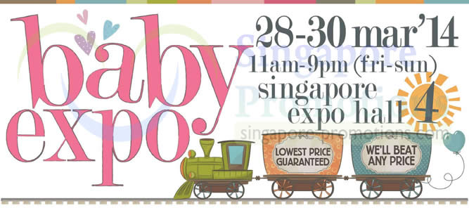 Baby Expo Mar 2014 Event Details