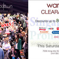 Read more about BabyTown Up To 80% OFF Warehouse Clearance SALE @ Northstar AMK 22 Mar 2014