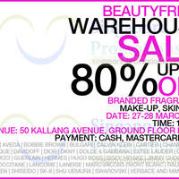 Read more about Beautyfresh Up To 80% OFF Warehouse SALE 27 - 28 Mar 2014