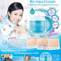 Read more about Bio-Essence New Aqua Droplet Sleeping Beauty Mask Promo 21 - 26 Mar 2014