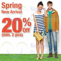 Read more about Bossini 20% OFF Spring New Arrivals 7 - 16 Mar 2014