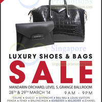 Read more about Brandsfever Handbags & Footwear Sale @ Mandarin Orchard 28 - 29 Mar 2014