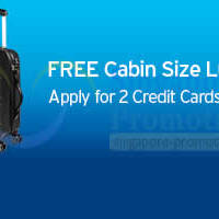 Citibank FREE Luggage With 2 Credit Cards Application Promo 21 - 30 Sep 2014
