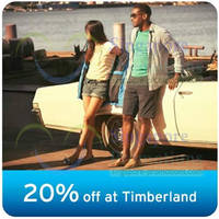 Read more about Timberland 20% OFF Storewide For Citibank Cardmembers 30 Mar - 30 Apr 2014
