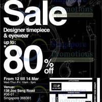 Read more about City Chain & Optical 88 Up to 80% OFF SALE @ Trivec 12 - 14 Mar 2014