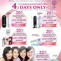 Read more about Clariancy 20% OFF Storewide 4 Day Promo 6 - 9 Mar 2014