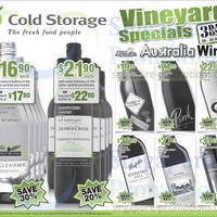 Read more about Cold Storage Wines 3 Day Offers 28 - 30 Mar 2014