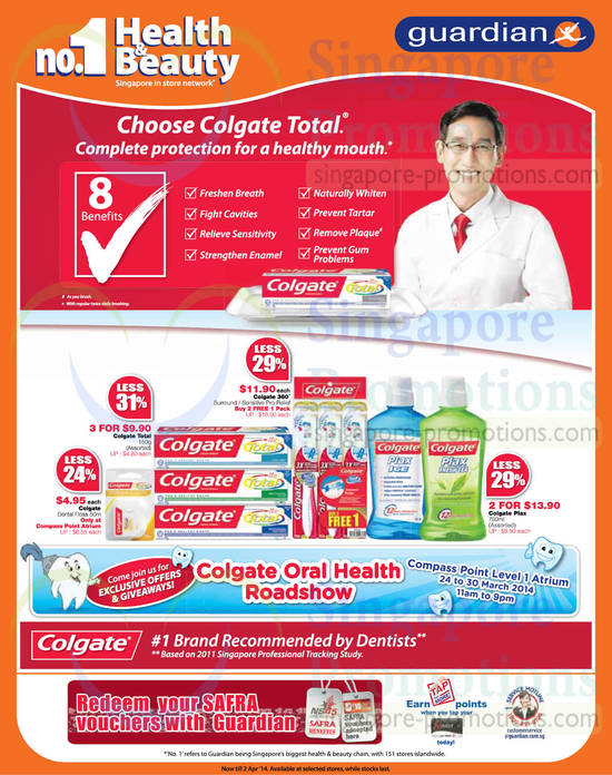 Colgate Products, Compass Point Roadshow