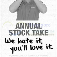 Read more about Courts Annual Stock Take Offers 8 - 9 Mar 2014