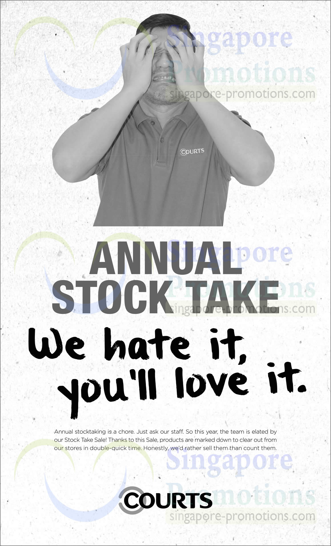 Courts Stock Take Sale